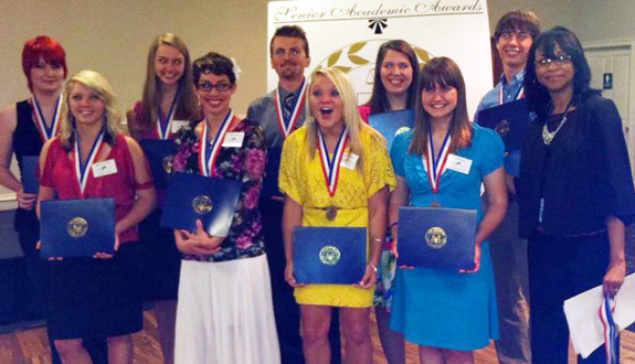 Escambia Honors Outstanding High School Seniors  NorthEscambia - seniors high school