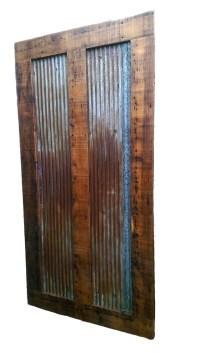 Reclaimed Barn Wood Sliding Door | White Cedar | Barnwood