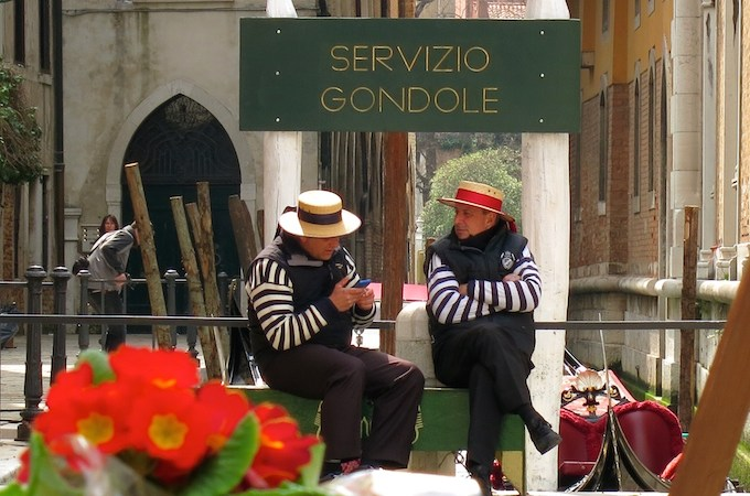 Venice Gondola Ride Servizio Gondole