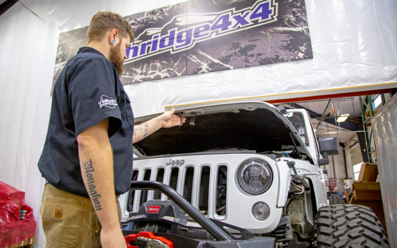 How to Install Hood Struts for your JK and JL Northridge Nation News