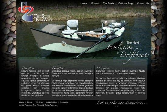 Freestone Boats Website