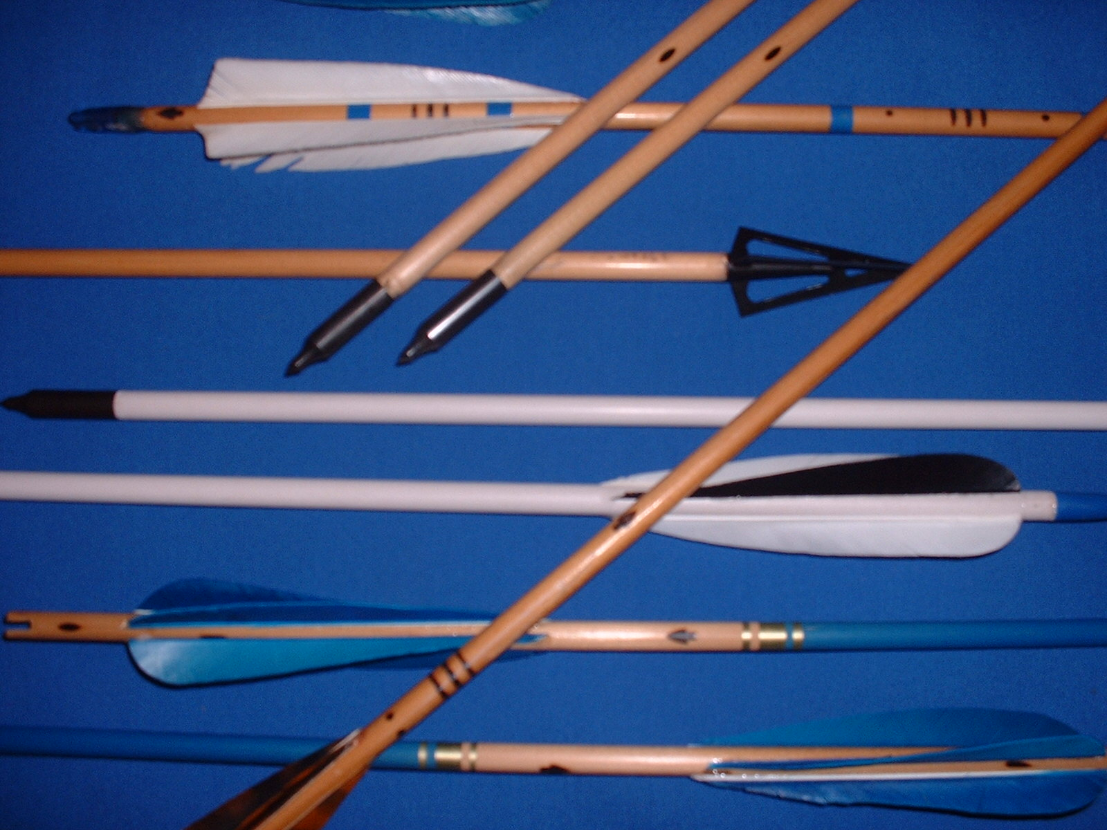 Fall Wooden Wallpaper Traditional Archery Equipment Hand Made Wooden Arrows And