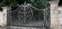 Wrought Iron Gates   Driveway Gates   Iron Railings   Side ...