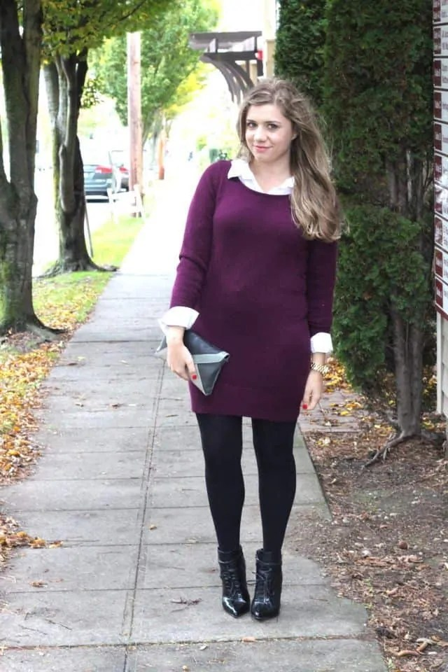 How to still rock your favorite dresses in winter