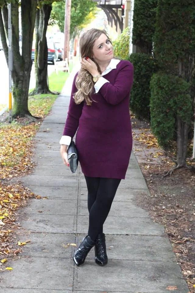 jewel tone knits for fall