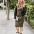 color everyone is wearing for fall - olive green
