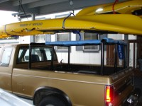 Homemade Wooden Kayak Rack For Truck - Homemade Ftempo