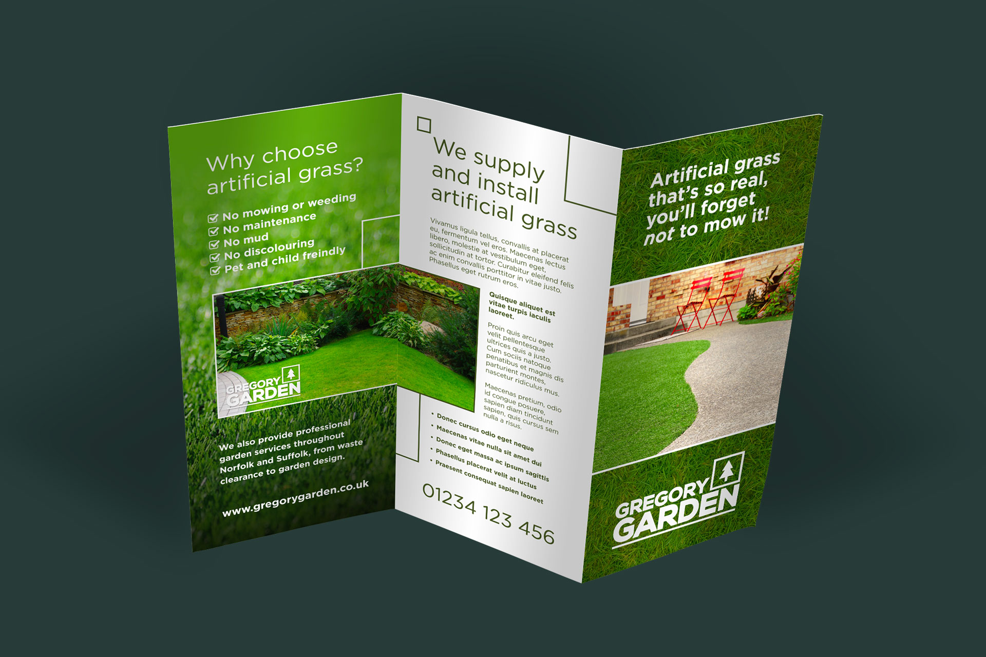how to design a leaflet on word