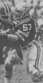 All-Pro Linebacker Rickey Jackson of the 1986 New Orleans Saints