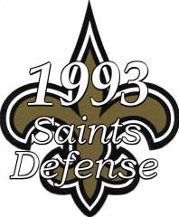 1993 New Orleans Saints Defense