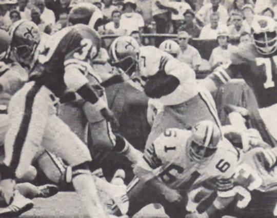 Bob Gresham of the 1971 New Orleans Saints