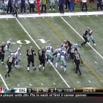 40 First Downs! 2013 Saints vs. Cowboys