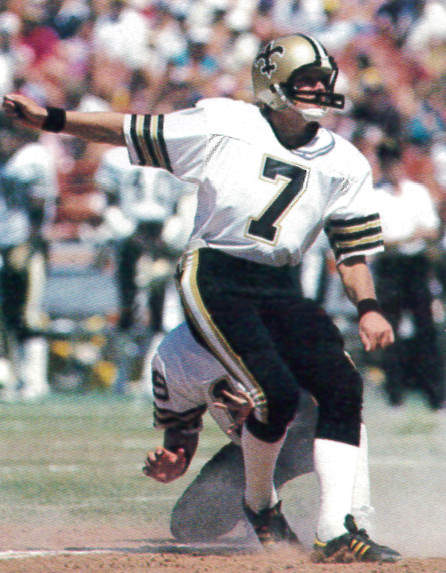 Saints Kicker Morten Andersen