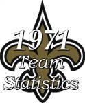1971 New Orleans Saints Season Statistics