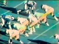 Howard Cosell Highlights New Orleans Saints Upset