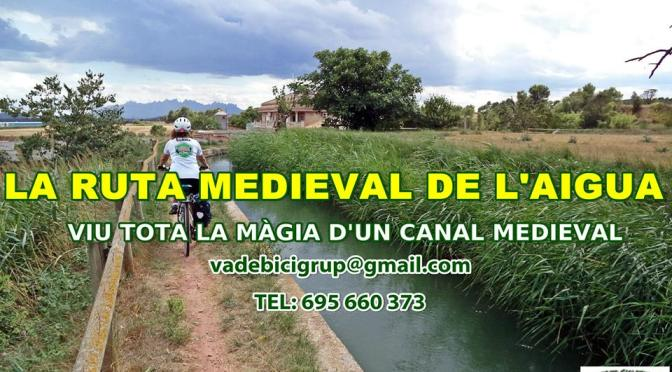 route of the medieval water Manresa