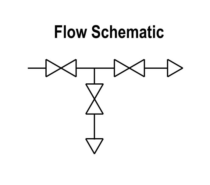 3 way valve flow diagram