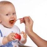 Lo que un bebé no debe comer