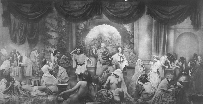 History of Tableaux New Orleans Society for Tableau Vivant