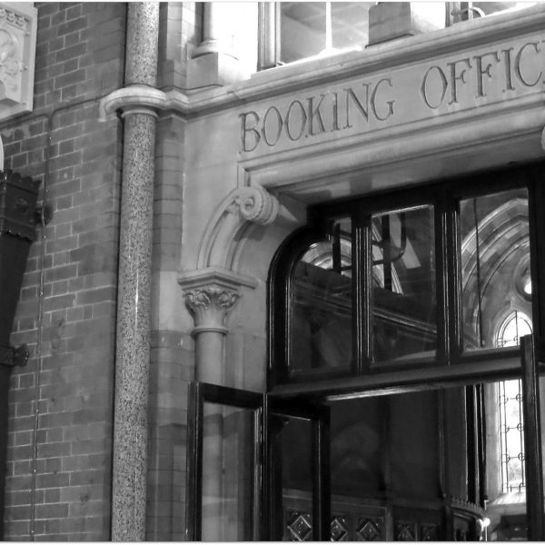 The booking office st pancras