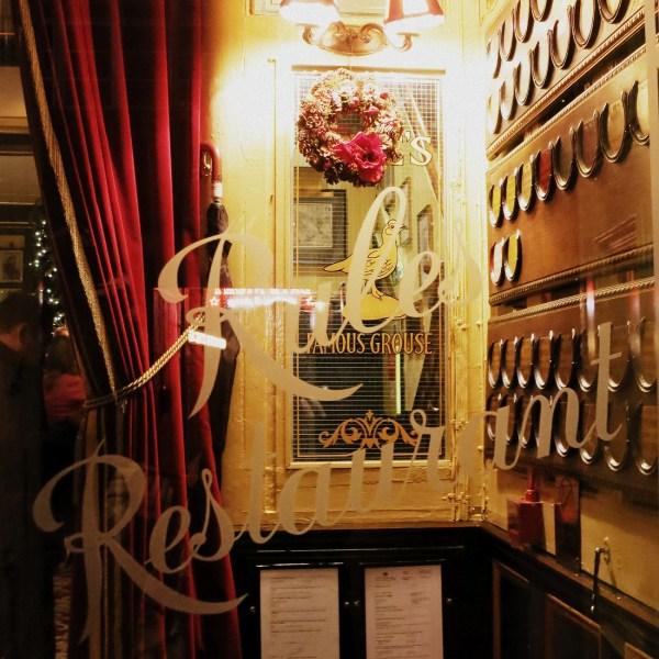 Restaurante Rules en Londres