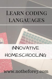 Learn coding langauages for Kids