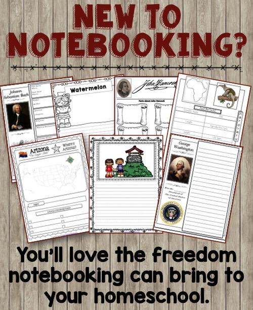 New to Notebooking? You'll love the freedom notebooking can bring to your homeschool!