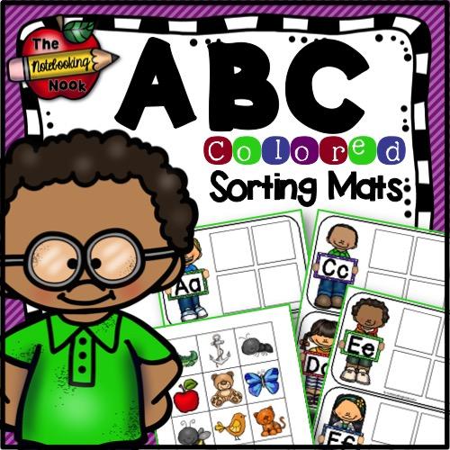 ABC Sorting Mat (Color)