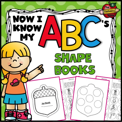 Now I Know My ABC's Shape Books