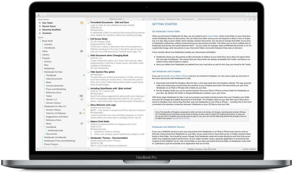 Notebooks for iPad, iPhone, Mac and PC \u2022 Notebooks
