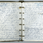 Earl Shaffer appalachian trail notebook diary