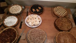 More sweet pies.  I voted for the bacon gingersnap crumble on the middle right for 'most likely to be president'!
