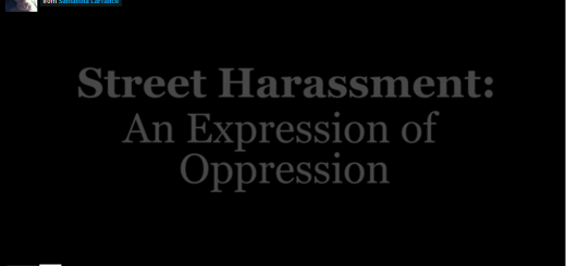 street harassment an expression of oppression