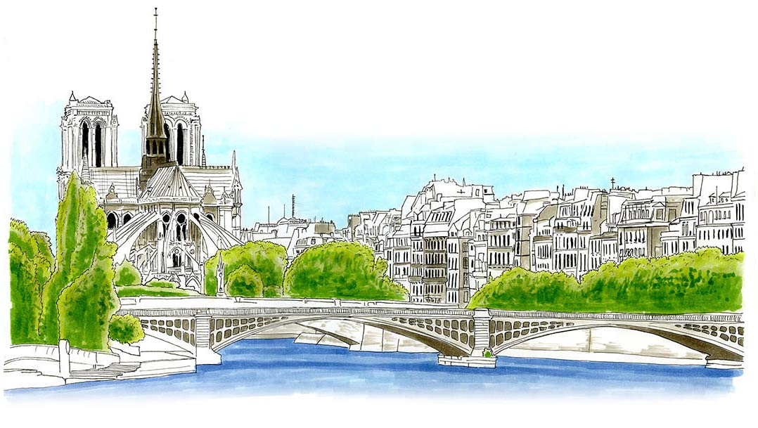 Paris Sketch Journal Paris Sketches and Drawings