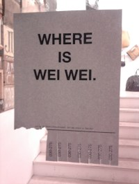 WHERE IS WEI WEI. - NOTES OF BERLIN