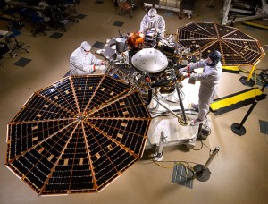 Nasa Mars lander Insight