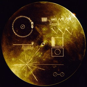 golden record on the voyager space probes