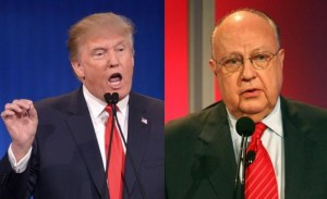Composite image of Donald Trump and Roger Ailes.