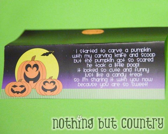 Pumpkin Poop \u2013 { Free Printable } Nothing But Country