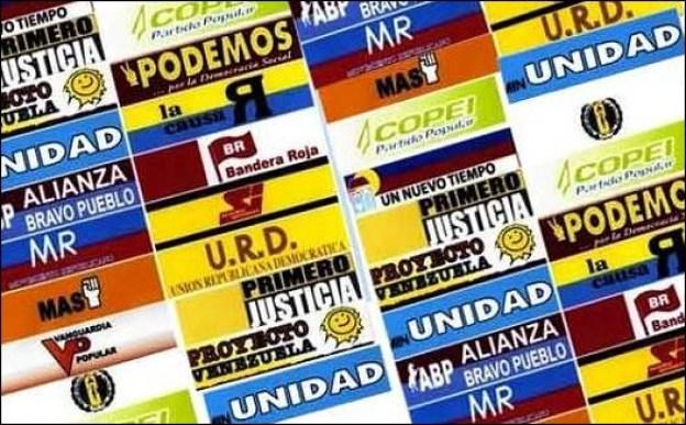 Resultado de imagen para partidos de oposición en venezuela