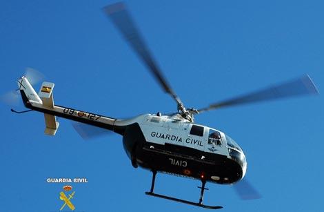 helicoptero guardia civil