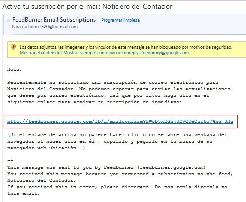 guia de suscripcion 4 Gua de suscripcin a boletines de Noticiero del Contador