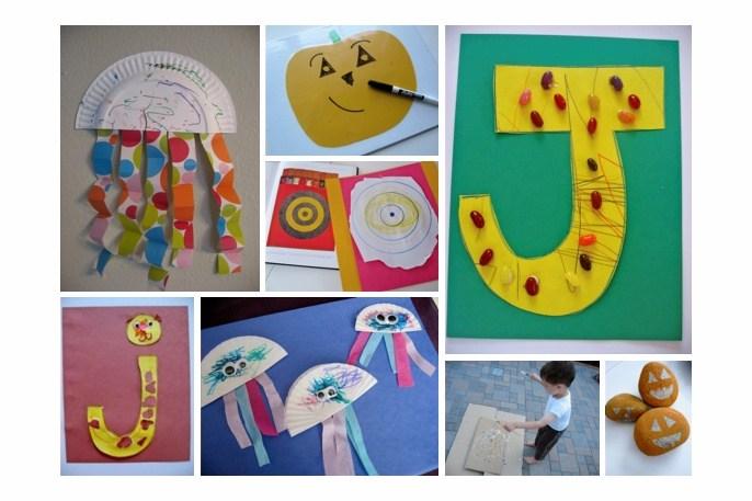 Dltks Letter J Crafts For Kids Letter Of The Week J Theme No Time For Flash Cards
