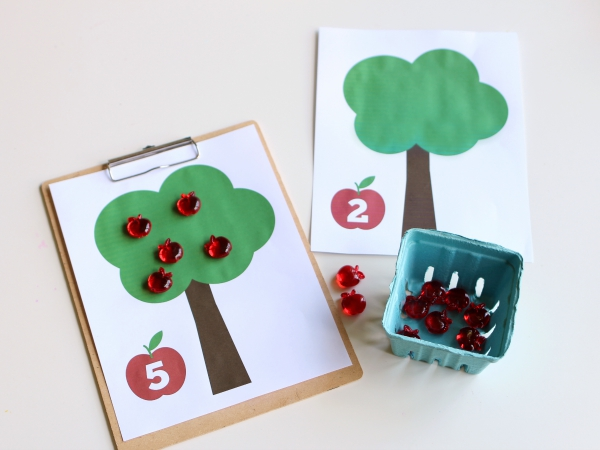 Fall Math Activities For Preschool and Kindergarten - No Time For