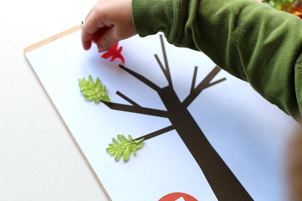 FREE Printable Math Mats For Fall - No Time For Flash Cards