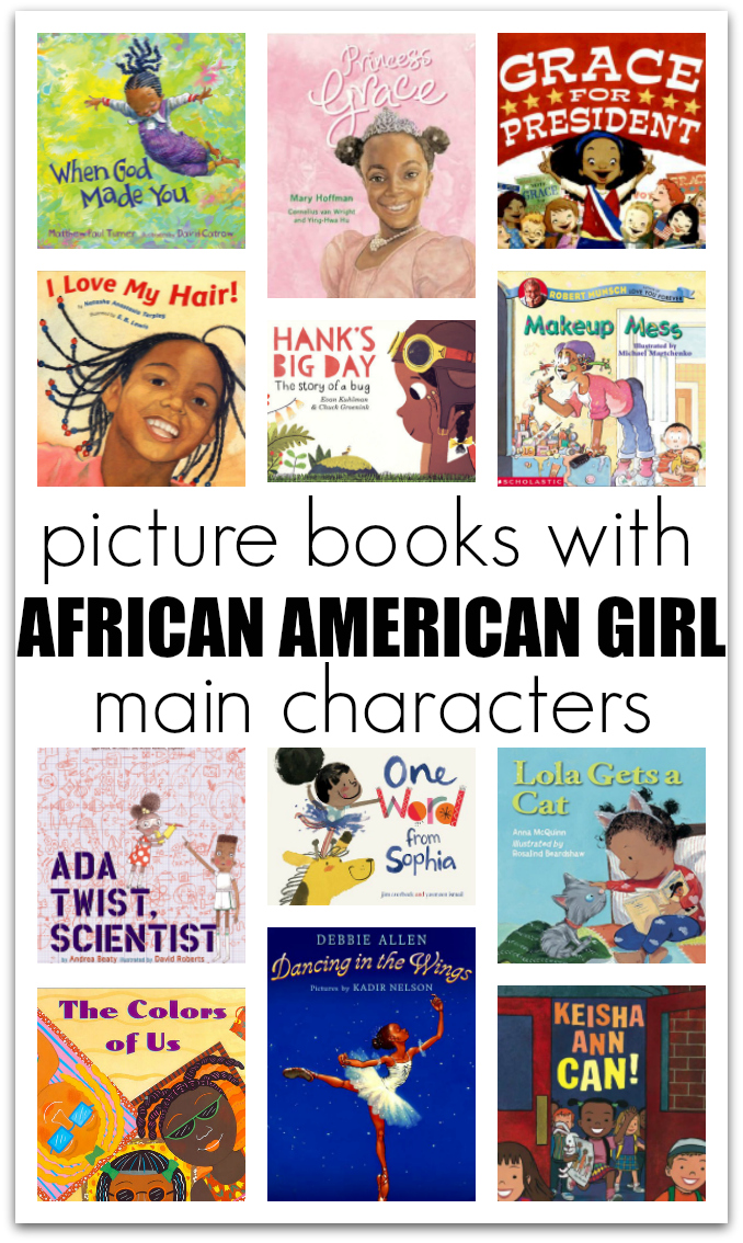 20 Picture Books with African American Girl Characters - No Time For