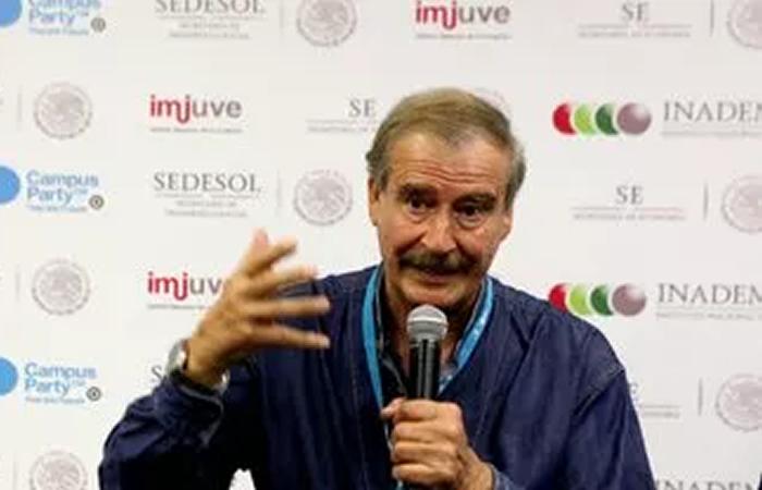 """Trump, es un """"baboso, ignorante, xenófobo y discriminador: Vicente Fox"""