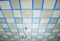 Checkered Ceiling Tutorial - Stacy Risenmay