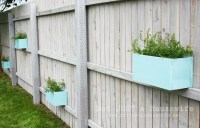 Planter Boxes on the Fence!   Not JUST A Housewife