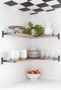Open Shelves In The Kitchen - Stacy Risenmay